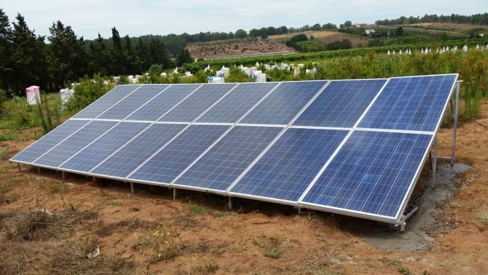 Panneaux solaires installés à Kenitra