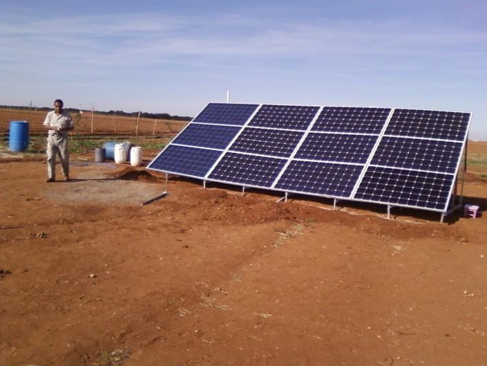 panneaux solaires Tinghir